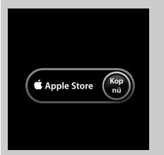 Del av Apples annons för Apple Store med texten 'Kop nü'