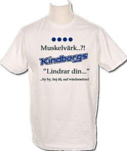 T-shirt med texter från Iprenreklamen